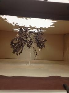 The striking black tree