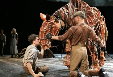 Phil Grabsky's Blog - War Horse. Photography - Simon Annnand. Copyright National Theatre