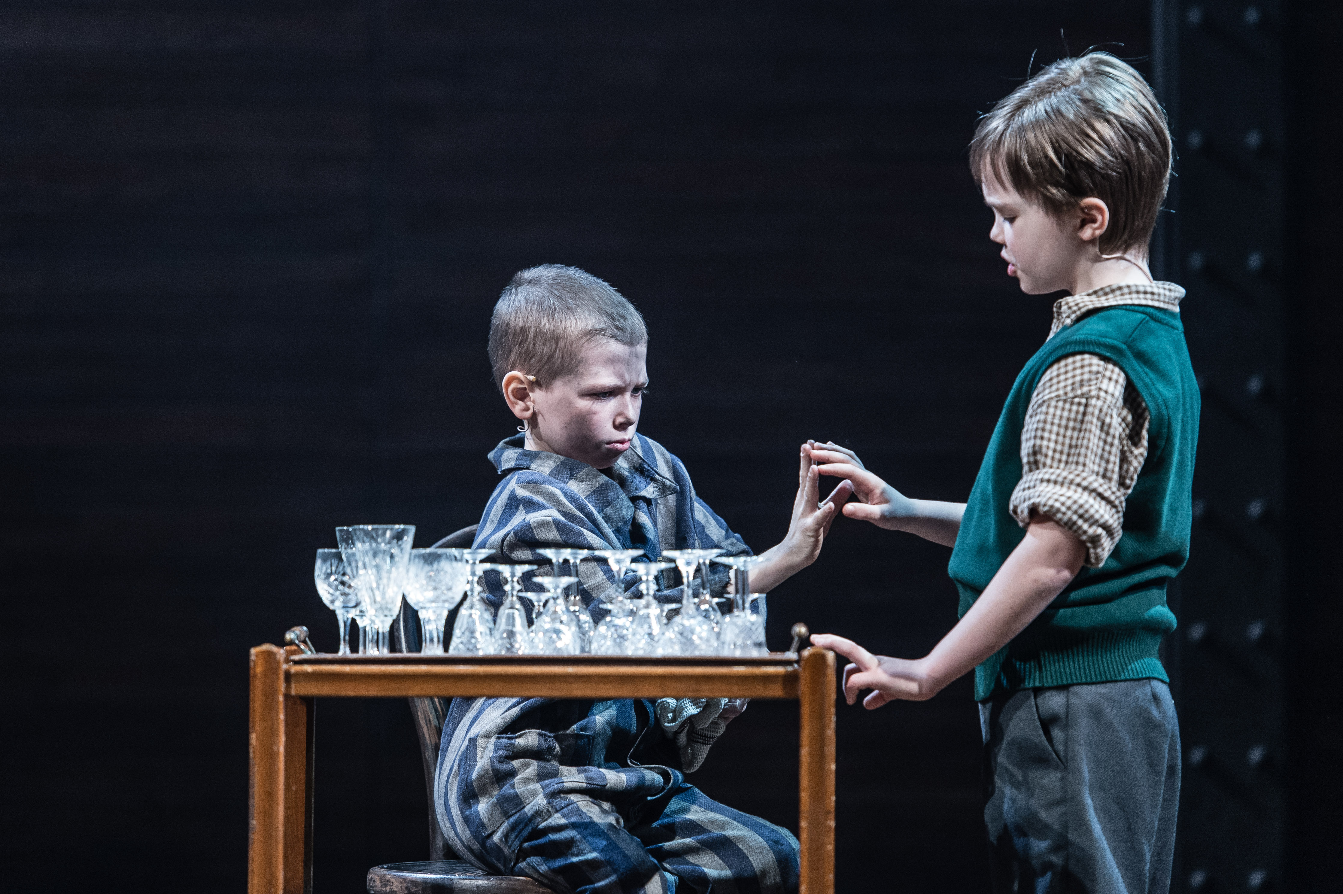 bookreport the boy in the striped The boy in the striped pajamas takes place in nazi germany, when nine-year-old bruno's father is given a position of power at auschwitz, and the family moves to a house outside of the camp the.